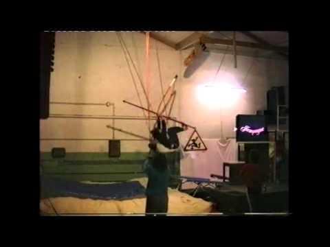 Akrobatik mit Jumpagne
